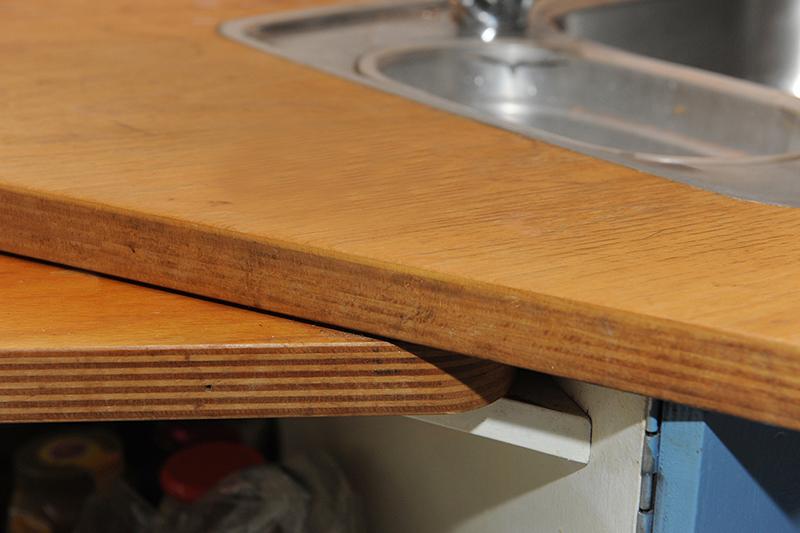Ronde keuken in molen Rhenen - detail