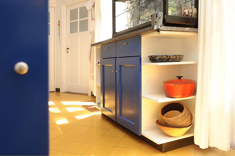 Woonkeuken op maat door meubelmaker Henk Bosman, met zichtbare passie voor koken