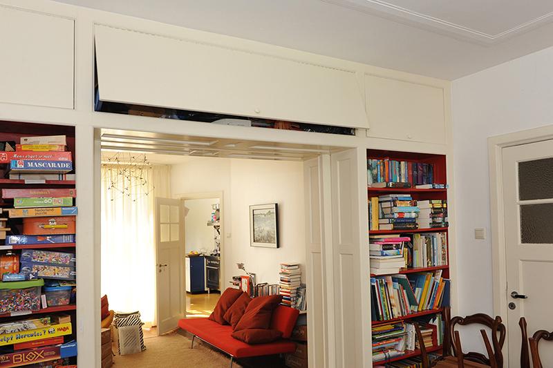 Kamer weer en suite - kamer weer in oorspronkelijke staat; gerealiseerd door interieurbouwer Henk Bosman