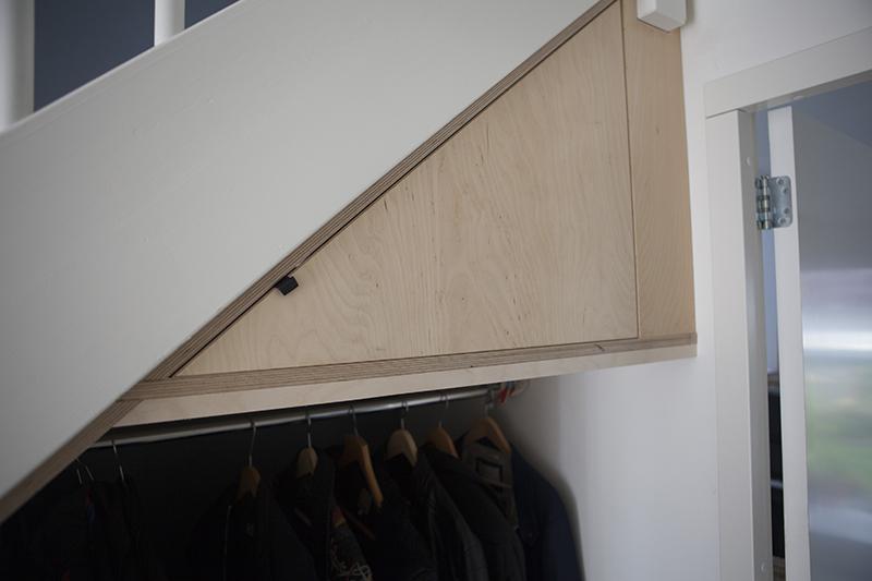 Kast In Trap : Dichtmaken van open trap aanleggen van trap kast onder de trap